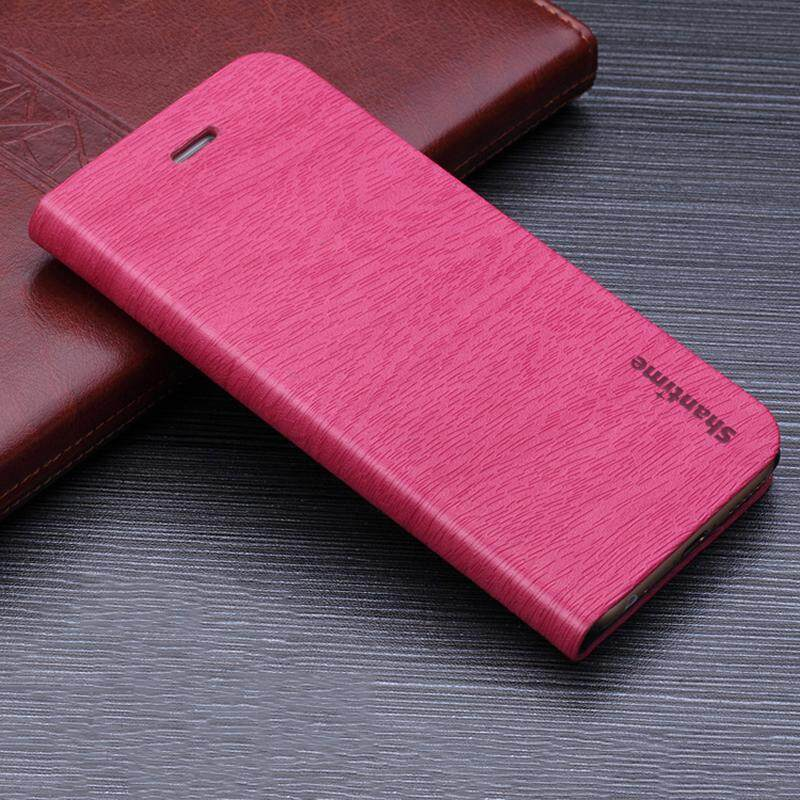 Kayu Kasus Telepon untuk Moto G5 Plus Casing Kulit Butir Kayu Lipat Sarung untuk Moto G5 Plus Antik Dompet Seluler tas Telepon-Internasional