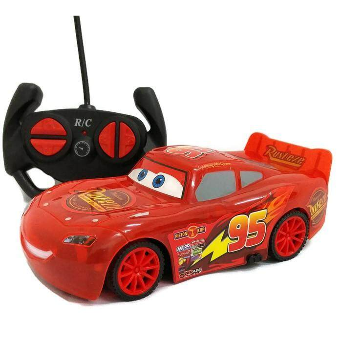 RC Remote Control Car Cars McQueen Racing Series Birthday  Gift