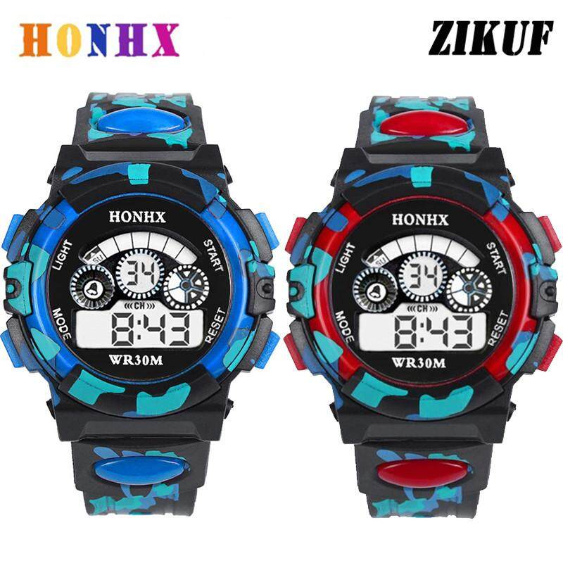 Creative Casual Digital Watch Children Waterproof Men Boy Led Digital Alarm Date Sport Led Light Watches Girls Digital Watches Children's Watches