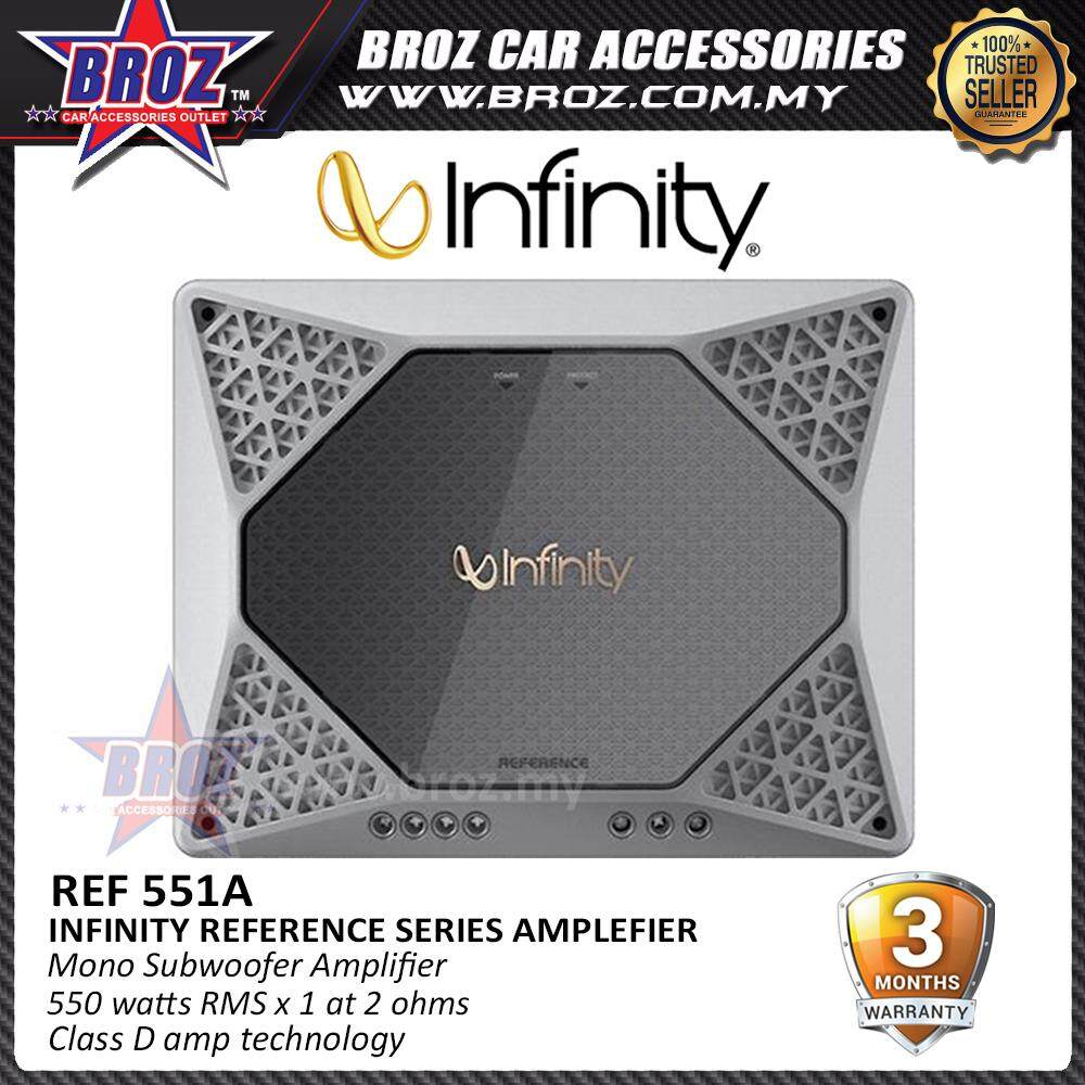 Broz Infinity Reference Series Amplifier REF-551A Mono Subwoofer Amplifier
