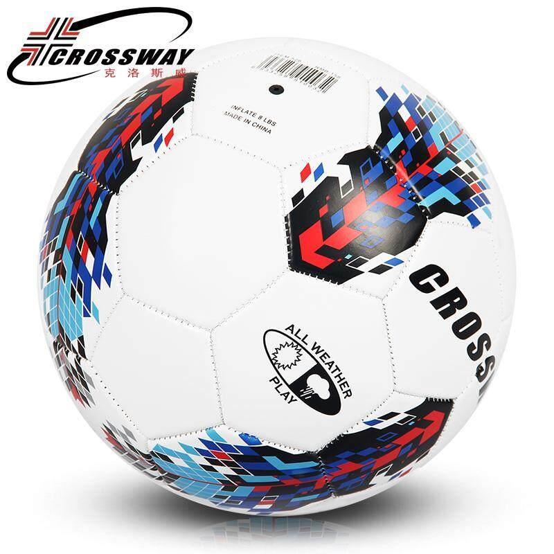 Crossway Bola Sepak Football Soccer Standard Soccer Ball PU Size 5 Ball  with . ecd159936e