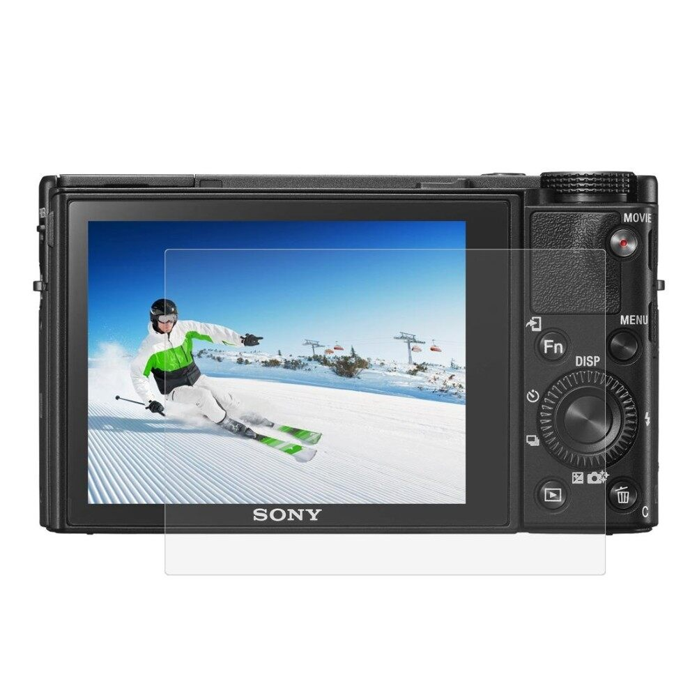 Puluz Kamera 2.5D Melengkung Edge 9 H Kekerasan Permukaan Kaca Antigores Pelindung Layar untuk Sony RX100/A7M2/A7R/A7R2- internasional