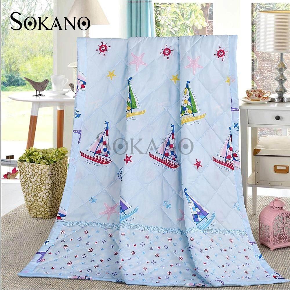 SOKANO BS002 200cm x 100cm Blanket- Blue Ocean
