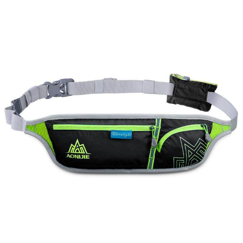 Hình ảnh Unisex Outdoor Running Waist Bag Sports Waterproof Security Smart Phone Bag Pack Running Belt Bag for Hiking Camping Cycling