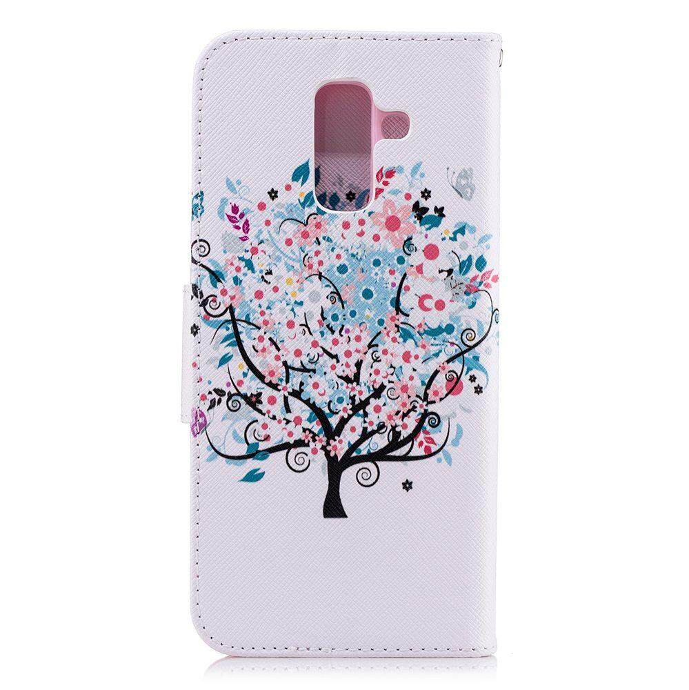 Fitur Case For Samsung Galaxy A6 Plus 2018 Pu Leather Wallet Premium