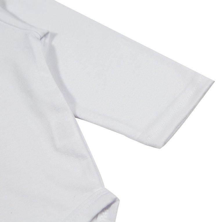 Chunnuan Musim Semi Musim Gugur Musim Dingin Bayi Lengan Panjang Uniseks Romper dengan Tulisan Panah Celana &-Intl