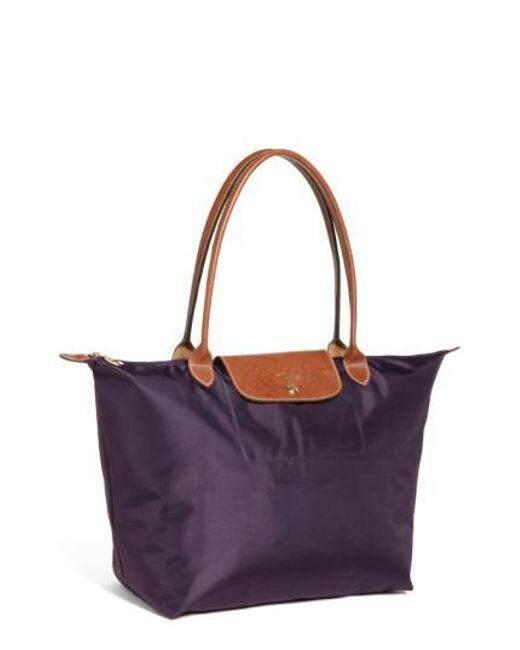 Longchamp Le Pliage Tote Bag Large Bilberry 1899089 645