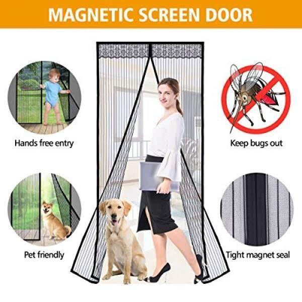 Pathonor Pintu Layar Magnetik Jala Ajaib Magnet Kuat dengan Diri Seal Terbuka dan Meutup Otomatis Desain