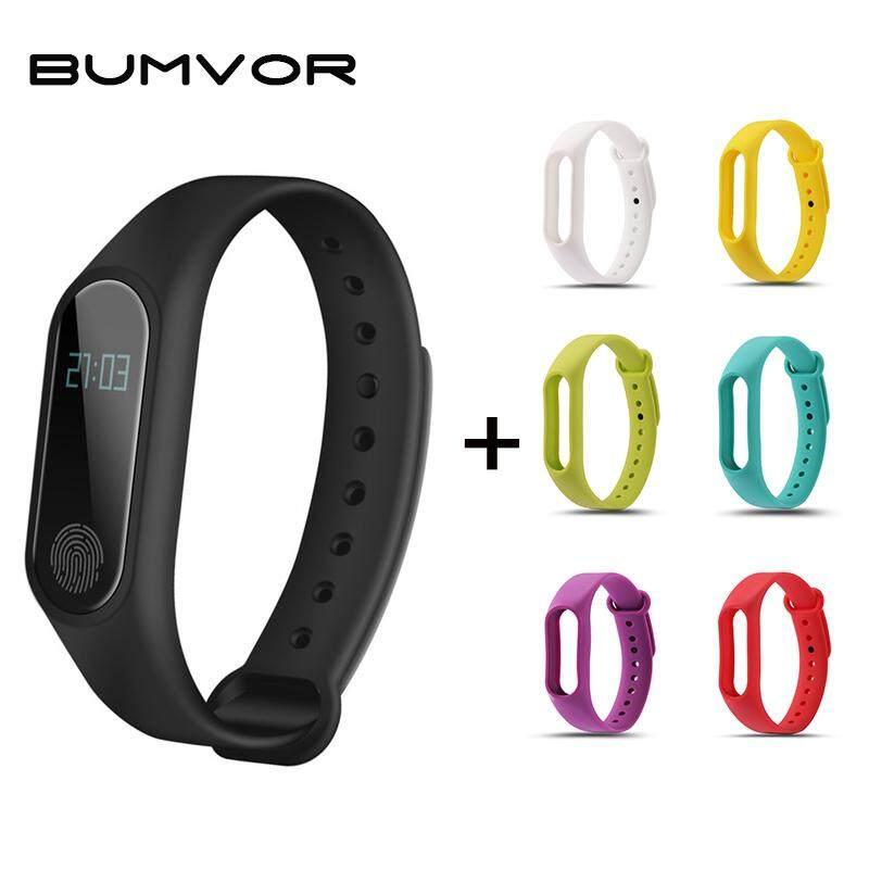 Nơi bán BUMVOR WomenWaterproof IP67 FitnesHeart Rate Monitor Blood Pressure Pedometer Bluetooth M2 Watch+WatchbandSmart Wristban