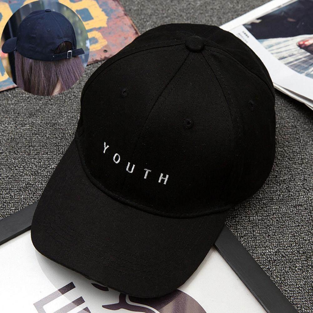 Korean Embroidery Letter Baseball For Women Men Summer Adjustable Snapback Caps 3 Colors Sun Hat