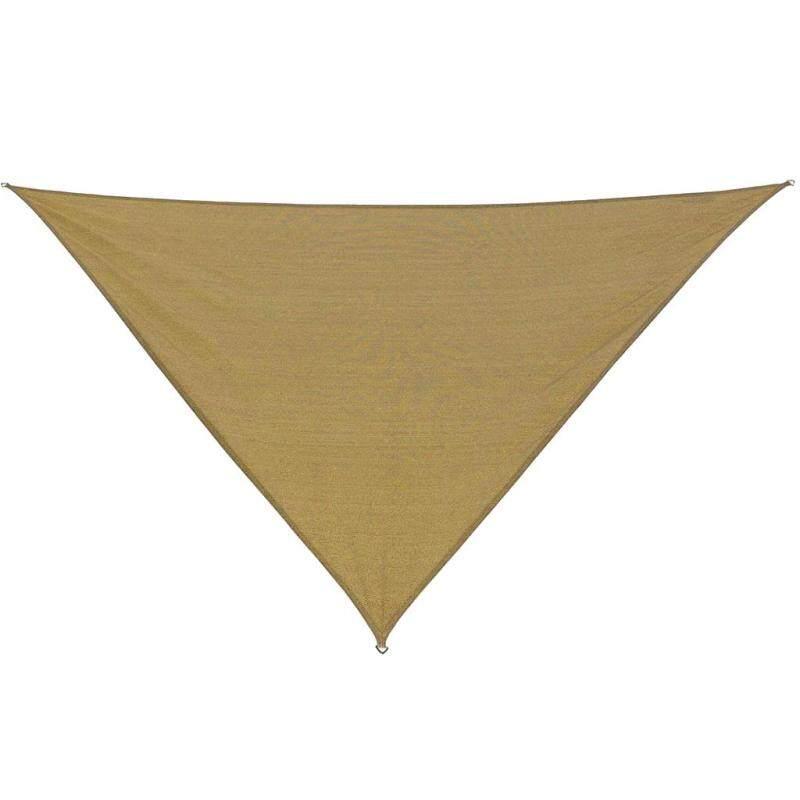 MagiDeal Triangle UV Block Sun Shade Sail Outdoor Pool Deck Patio Lawn 3m Yellow