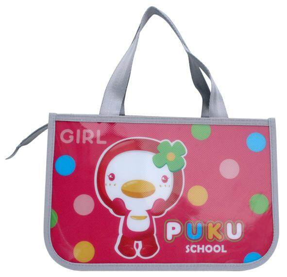 PUKU Waterproof Lunch Bag (Drop Pink)