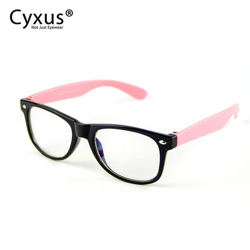 51a6989de1b0 Cyxus Kids Teens Computer Glasses Anti Blue Light Reduce Eye Strain Gaming  Eyewear(Black