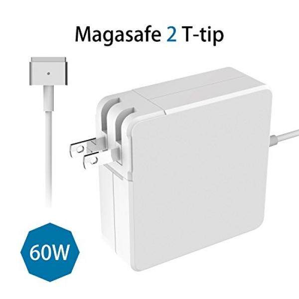 MacBook Pro Charger pengganti Macbook Charger 60 W MagSafe 2 Magnetik T-Tip Power Adaptor