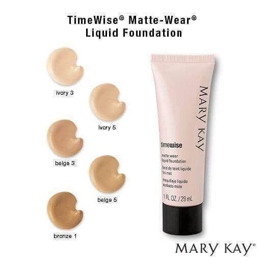 MARY KAY TIMEWISE MATTE-WEAR LIQUID FOUNDATION(Ivory 3) 29ml foundation