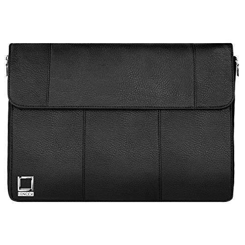 Lencca Axis 15 Hybrid Compact Slim Sling Shoulder Bag Briefcase for HP 15z / EliteBook / Envy / Mobile Thin Client / Omen 15t / ProBook / Spectre x360 / ZBook Series 14