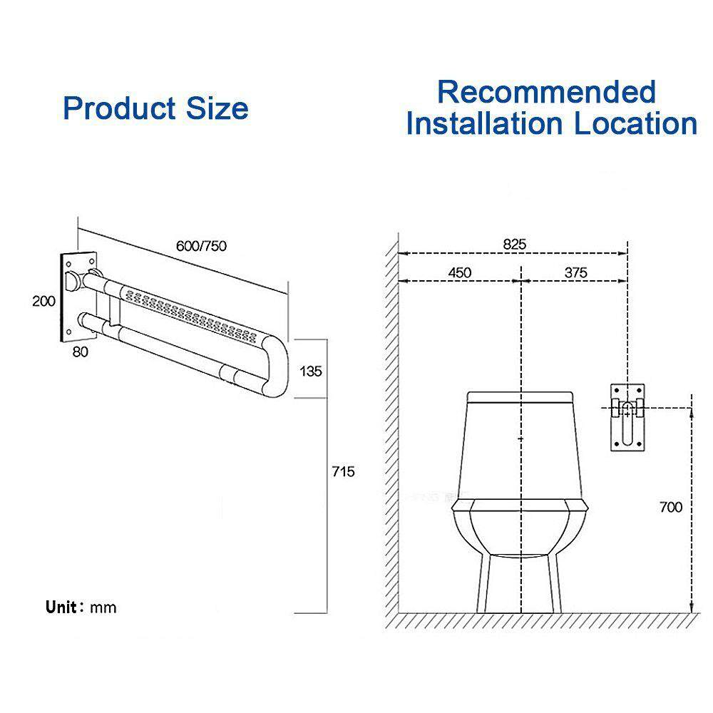 Presyo Ng Toilet Rail By Vive Bathroom Safety Frame For Elderly ...