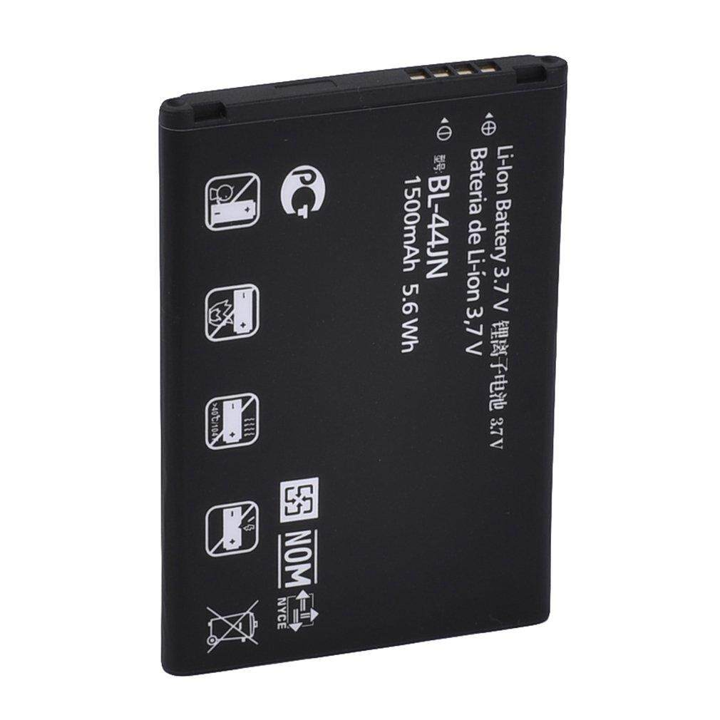 Hot Sales Quality 1500mAh Standard Li-Ion Battery Replacement for LG BL-44JN Black
