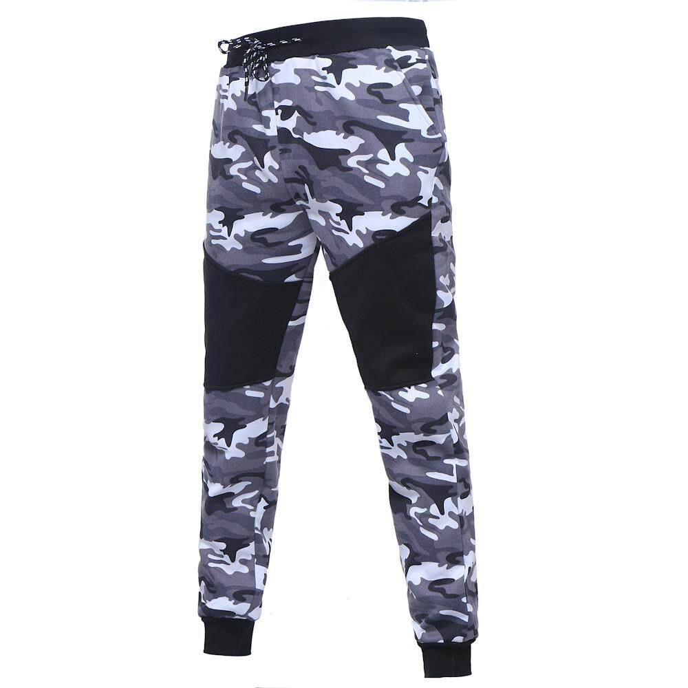 Ulamore Men's Autumn Winter Camouflage Sweatshirt Top Pants Sets Sports Suit Tracksuit - intl