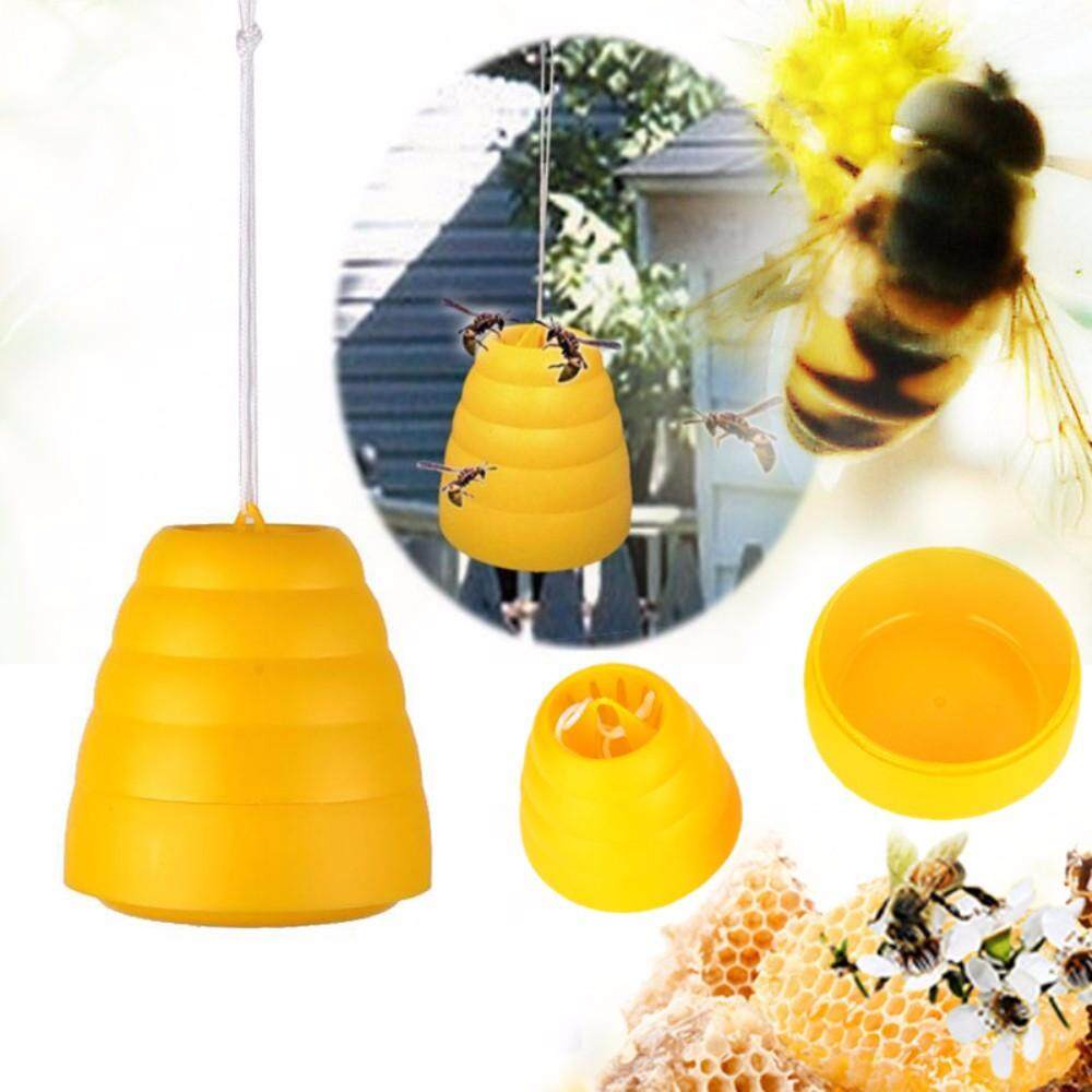 Hình ảnh Vigo No Chemicals Flying Hanging Wasp Trap Fly Flies Insect Bug Honey Traps Catcher Poison Free Garden Supplies For BBQ