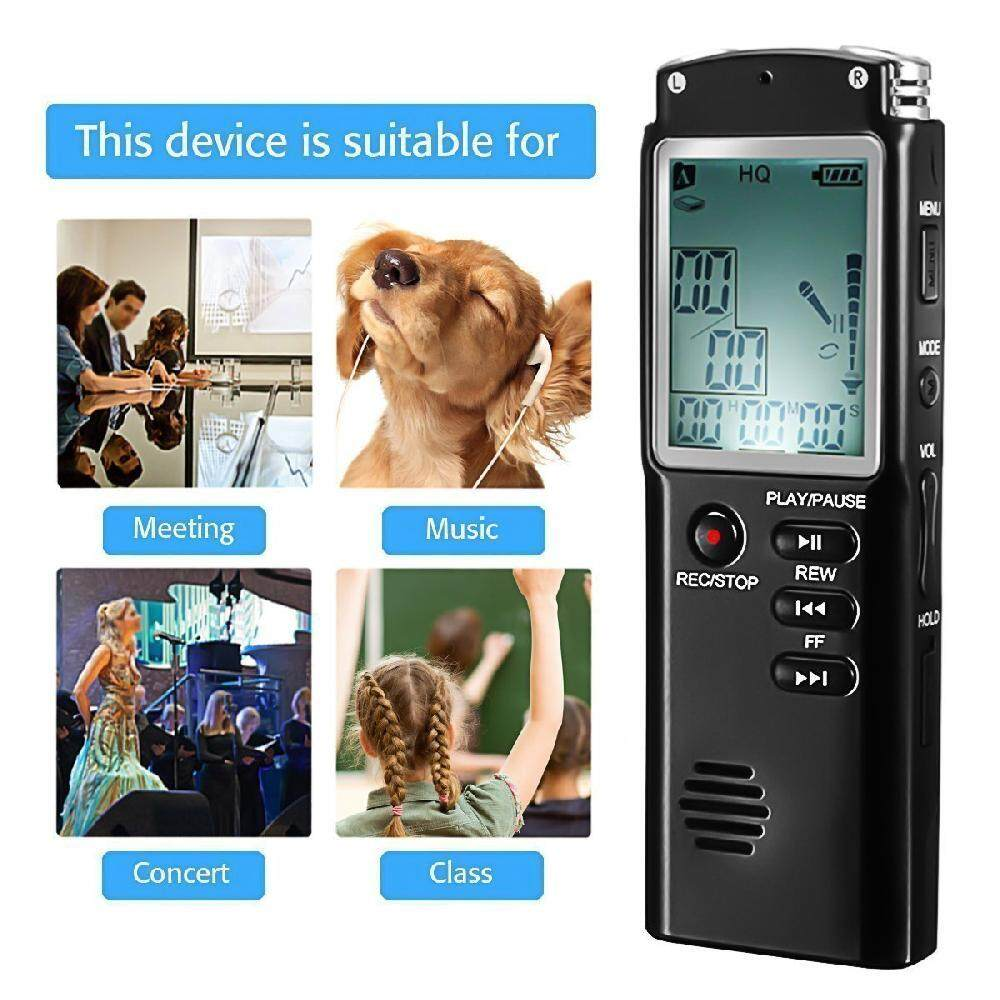 Queo T60 Original 16gb Voice Recorder Usb Professional Dictaphone Digital Audio With Wavmp3 Player Record And Playback Circuit Schematic Wav