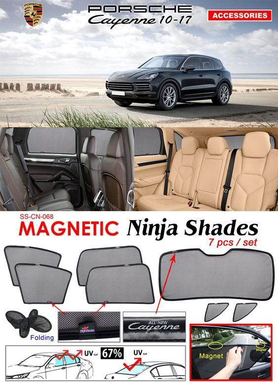 Porsche New Cayenne 2011 - 2017 Magnetic Ninja Sun Shade Sunshade