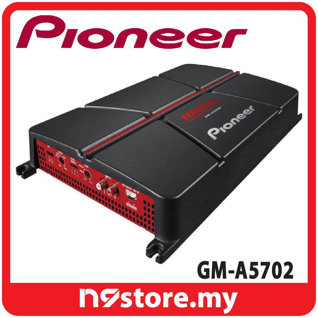 Pioneer GM-A5702 2 Channel AB Amplifier 150W x 2 at 4 ohm