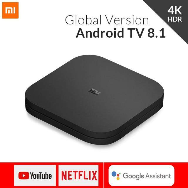 2018 Xiaomi Mi TV BOX S Smart 4K Ultra HD 2G 8G Android 8.1 WIFI Google