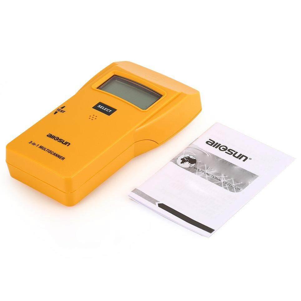 Beau Allsun TS73 Digital Mini 3 In 1 Manik Metal AC Detektor Kabel Tester Meteran