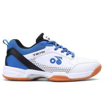 Pencarian Termurah Sepatu Sepatu Bulu Tangkis untuk Pria Badminton  Pelatihan Bernapas Keras Anti-Lampu Licin 9aa3d22bf6