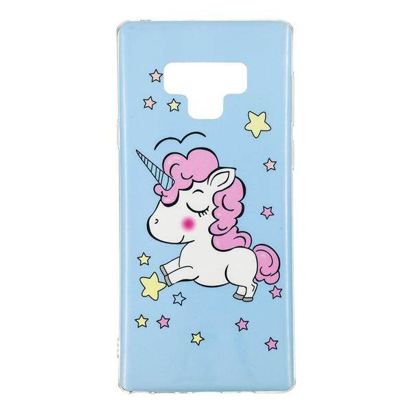 Moonmini for Samsung Galaxy Note 9 Back Case Ultra Slim Fit Soft TPU Phone Case Anti