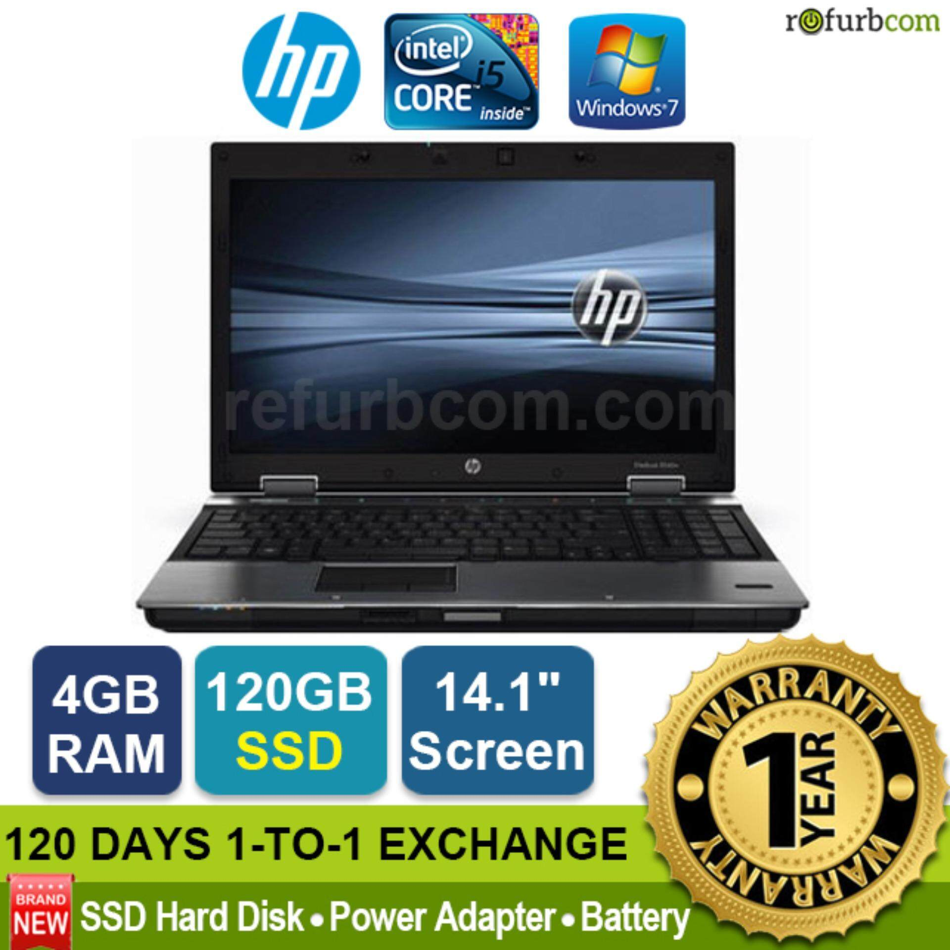 HP ELITEBOOK 8440P / INTEL CORE I5 1ST GEN [refurbished] Malaysia
