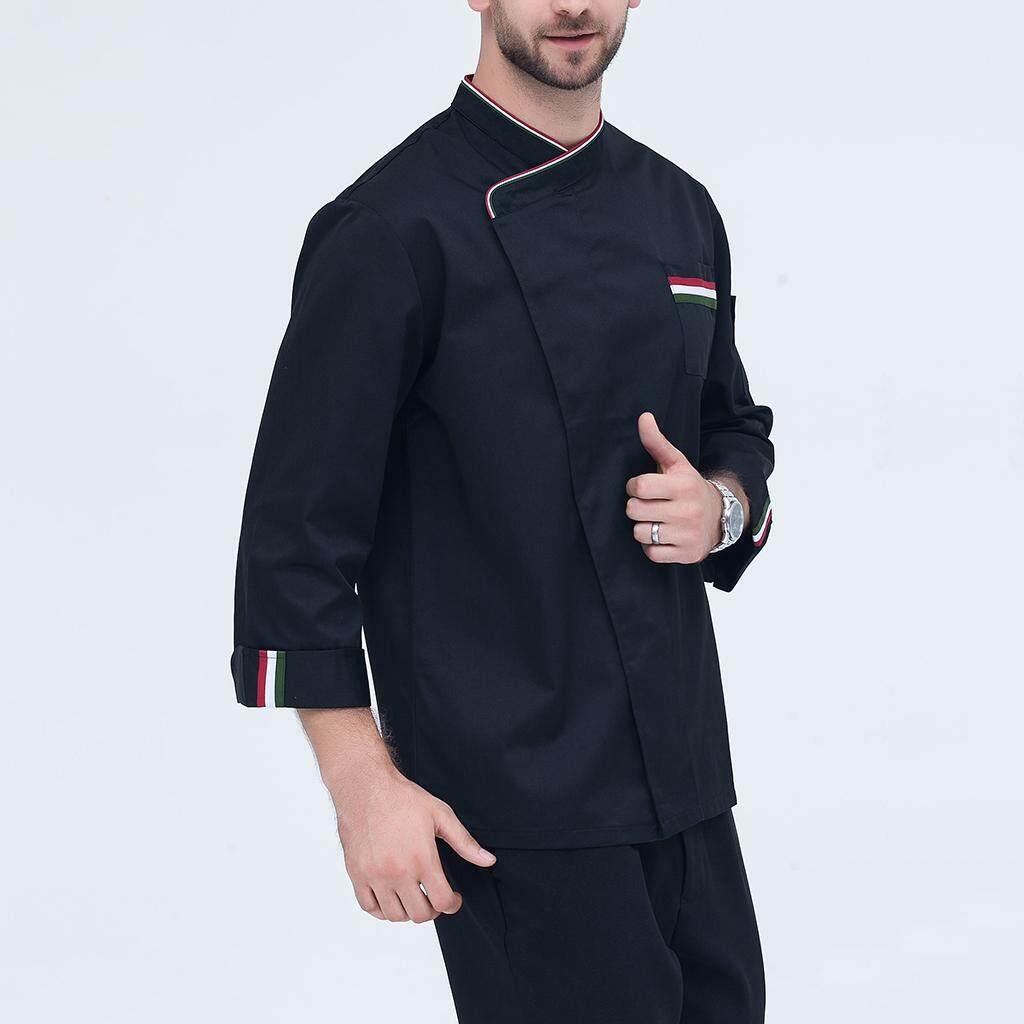 Hequ The New Alan Walker Dj Hoodie Sweater Zipper Set Jaket Magideal Mens Womens Long Sleeve Chef Jacket Coat Restaurant Cook Uniform L Black
