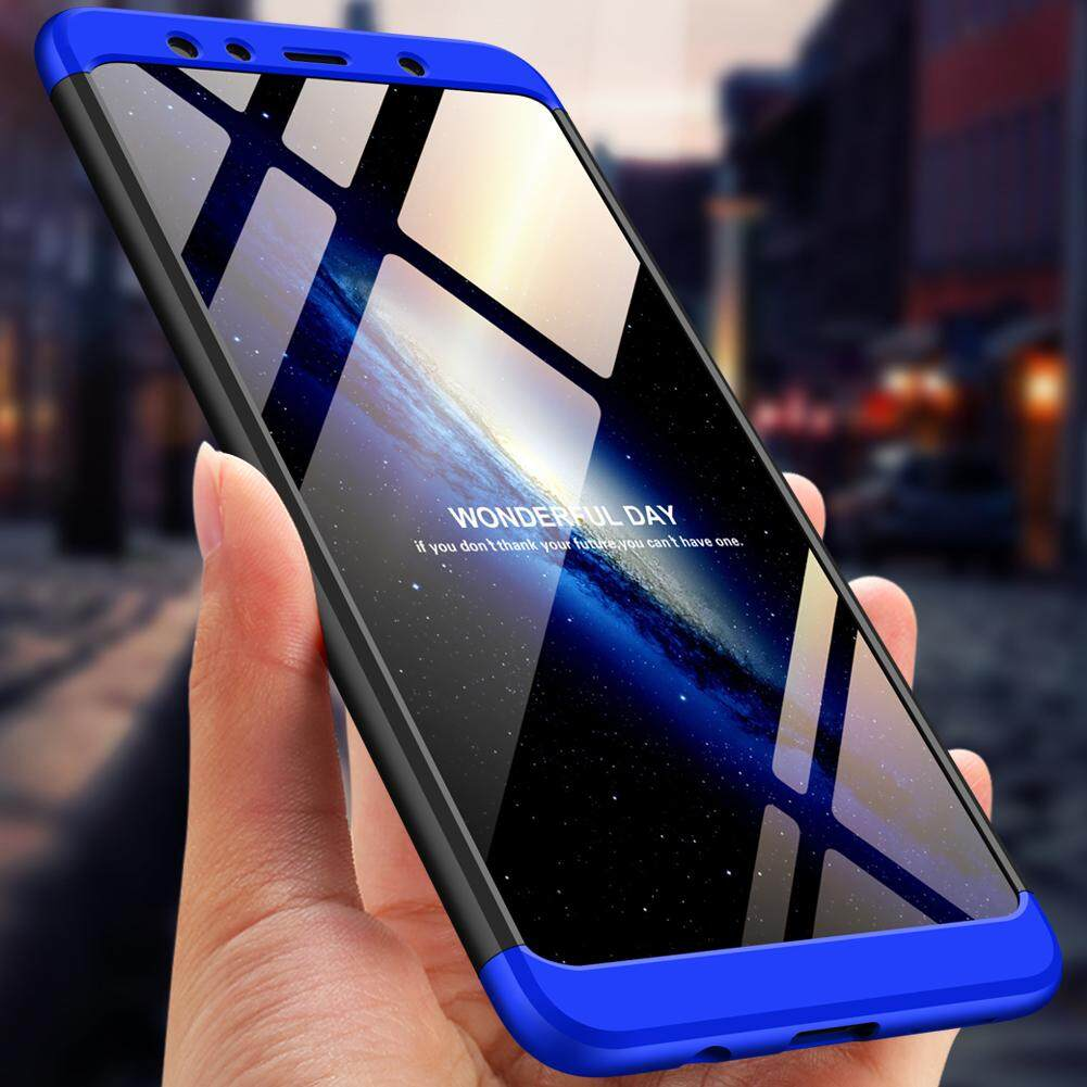 For Samsung Galaxy A7(2018) 3 in 1 Combo 360° Full Protection Hard PC Phone Case