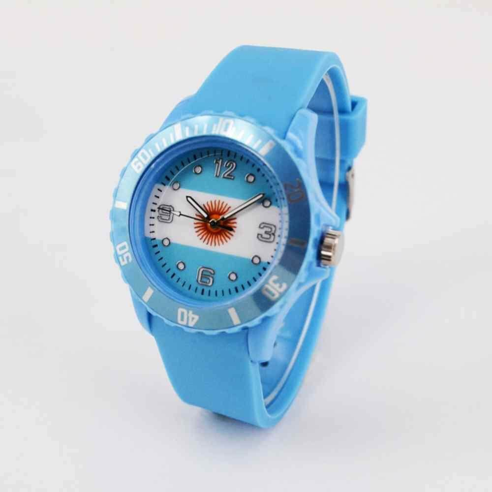Features Dueplay 2018 World Cup International Football League 22 Watch Diagram Country Representative Flag Case Fashion Argentina
