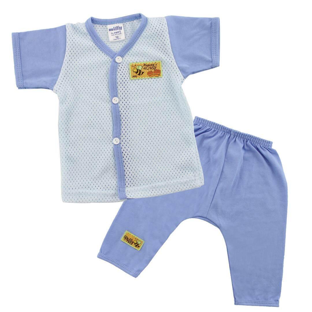 FIFFY Eyelet Short Sleeve Vest + Long Pants Suit