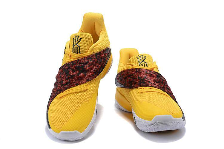 cafa9b130faa Nike Official Kyrie Irving 4 Low Top MEN Basketaball Shoe Uncle Drew Black  Yellow Global Sales