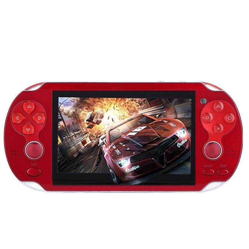 Star Mall 4.3 Multi-Function Portable Game Handheld Game Console 4gb Memory Built In Video Camera Various No-Repeat Games By Star Mall.
