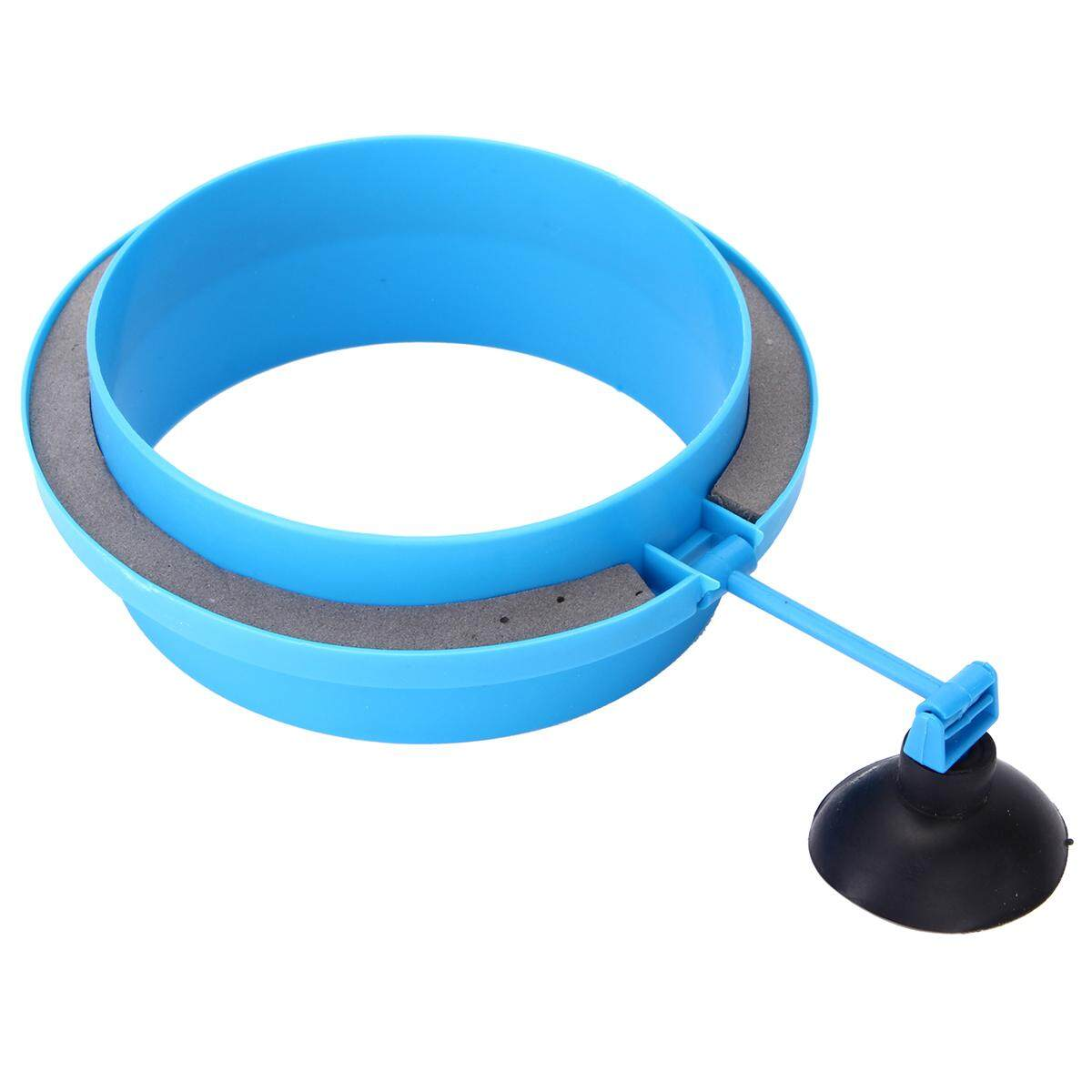 Feeding Ring Aquarium Fish Tank Station Floating Food Tary Feeder Double Layer Circle By Glimmer.