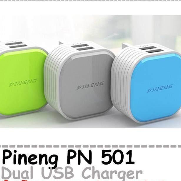 Pn501 Original Pineng 2 USB Wall Charger UK Malaysia Pin