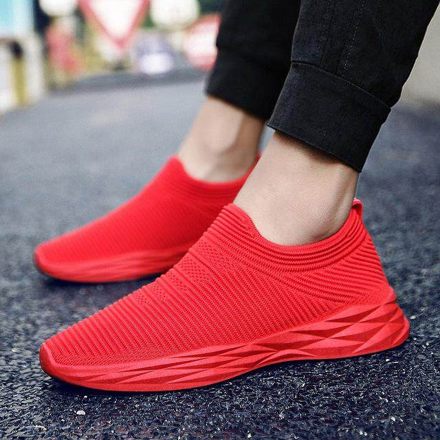 8c88a01992fa Spring Men Sports Sneakers Mesh Breathable Fashion Casual Shoes Athletic  Sports Running Shoes Lightweight Shoes