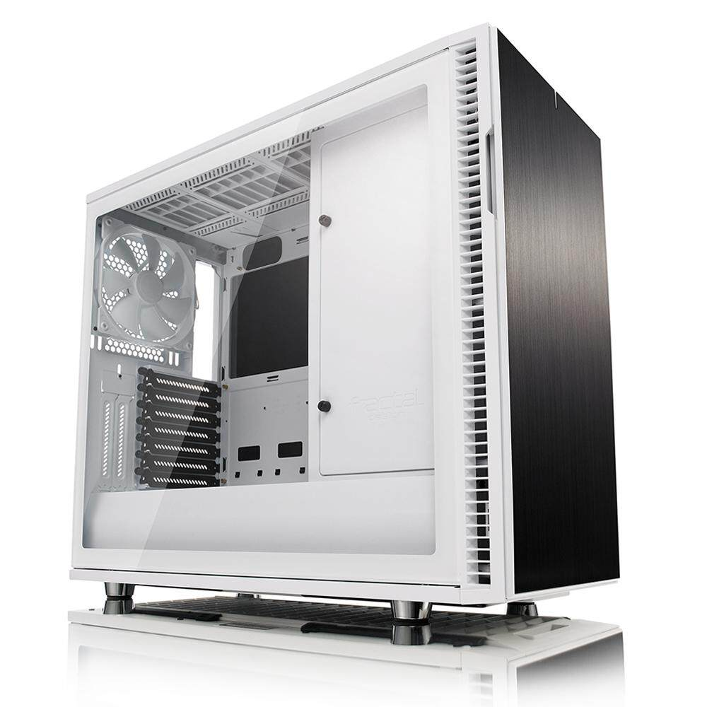 # FRACTAL DESIGN Define R6 Tempered Glass # White | Black | Gunmetal Malaysia