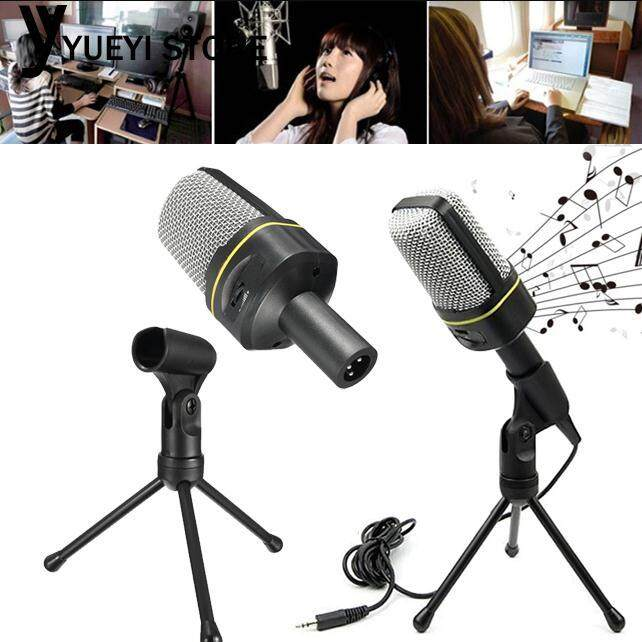 YYSL Microphone Mic Coll Fashionable with Tripod 3.5mm Studio Recording Singing