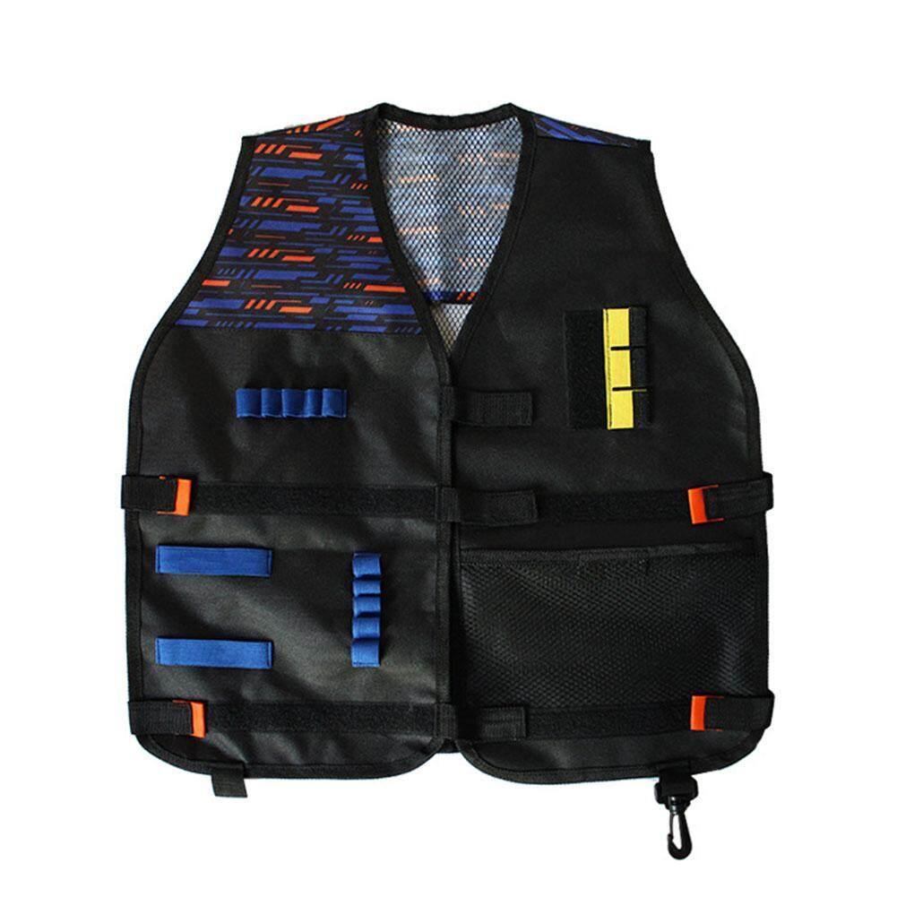 AF Kids Thicken Tactical Vest Outdoor Team Game Accessories for Nerf Guns N-Strike Elite Series