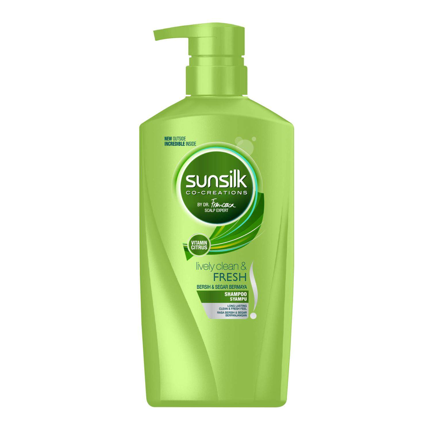 Sunsilk Co-Creations Lively Clean & Fresh Shampoo 650ml