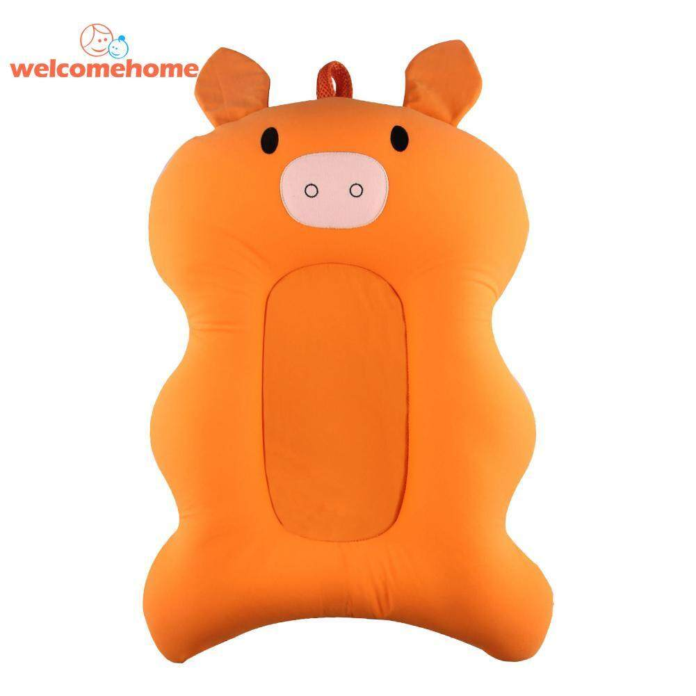 Newborn Baby Bathtub Pad Infant Non-Slip Shower Seat Support Cushion Mat By Welcomehome.