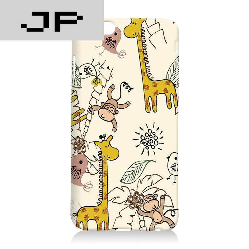 JP Fashion Brand Iphone6 ​​Mobile Shell Apple Case Silicone Soft Shell Cartoon 4.7 Inch Emboss Hard Shell Men and women([not available for sale in this area] - Hardshell - Zoo)
