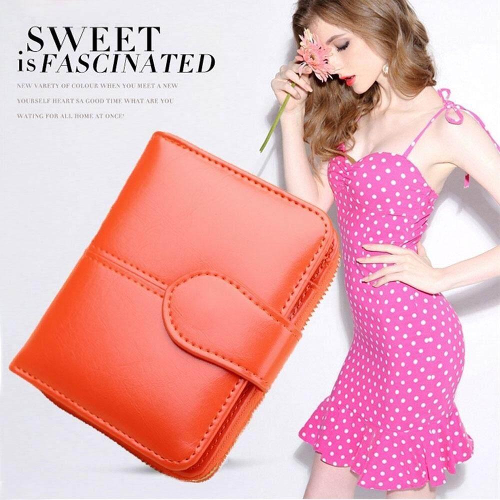 niceEshop Luxury Women Wallets Clutch Purse Mini Leather Pu Ladies Wallet Vintage Carteira Female Photo Card