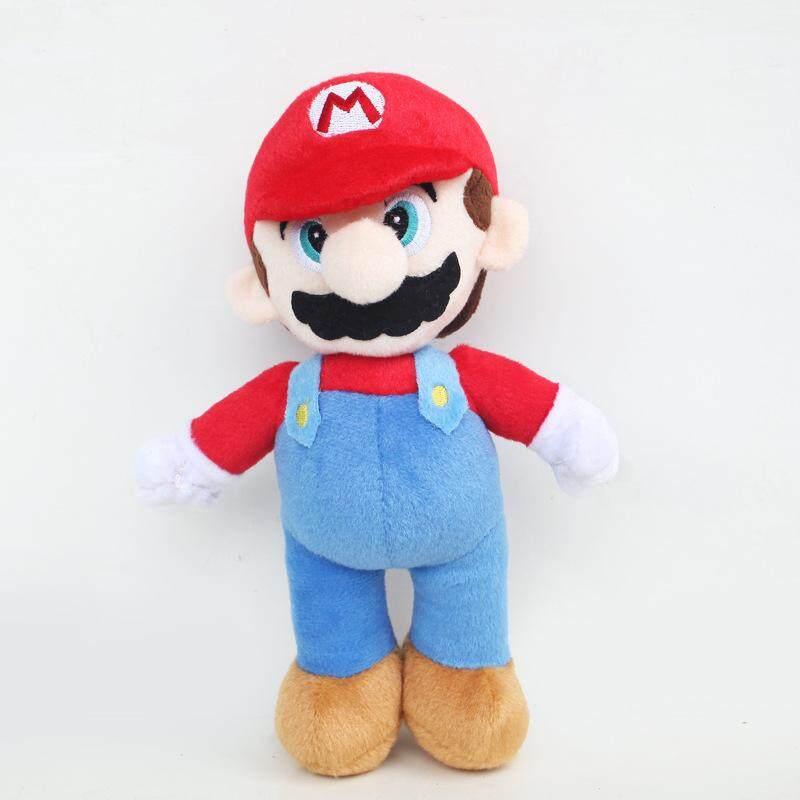 Super Boneka Mario Boneka Mainan 25 Cm Super Mario Bros Berdiri Luigi   Boneka  Mario Lembut b837fcfb45