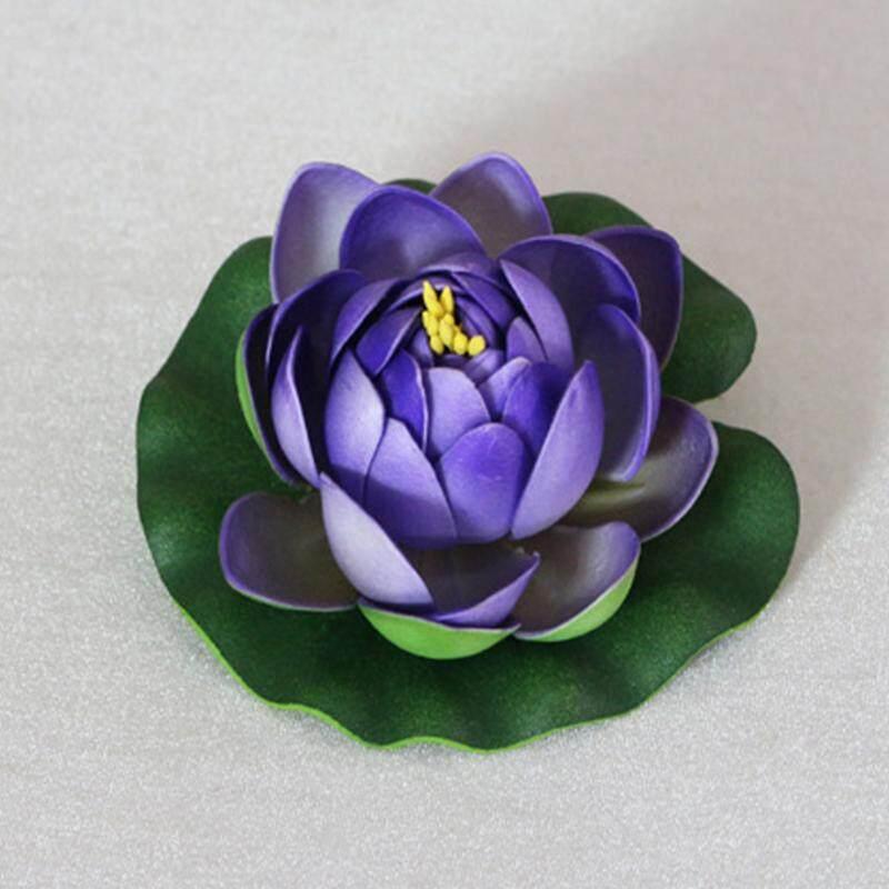 Gracekarin Online Hoy Bunga Teratai Artifisial Air Lily Bunga Mengambang Kolam Tangki Ornamen Tanaman 10 Cm